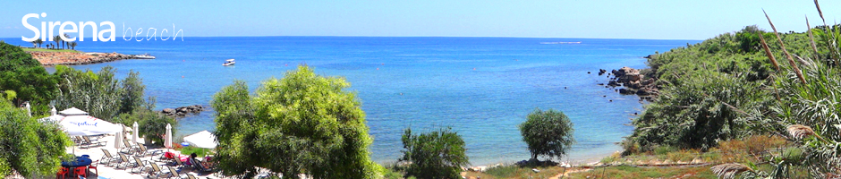 Cyprus beaches protaras sirena beach