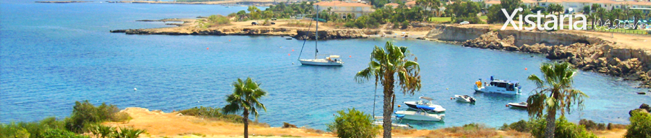 Cyprus beaches protaras xistaria beach