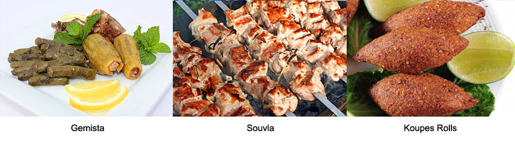 Cyprus cuisine local dishes tavvas koupes makaronia