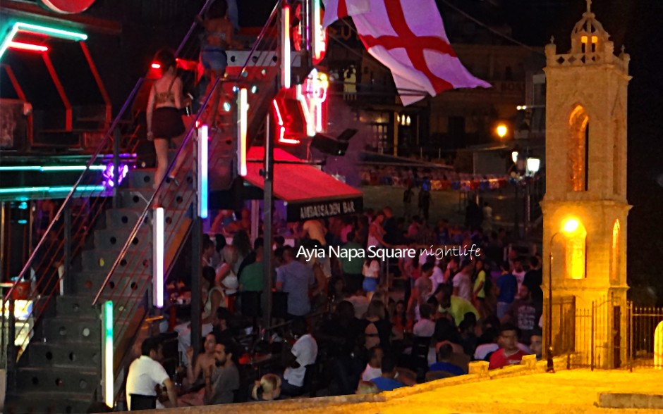 Ayia Napa Square Nightlife